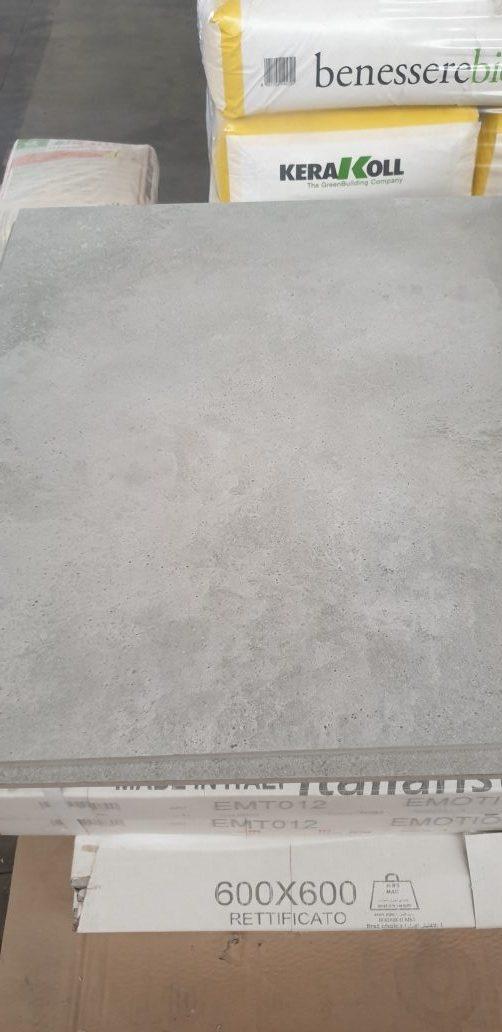 gres porcellanato eff. cemento grigio 60*60